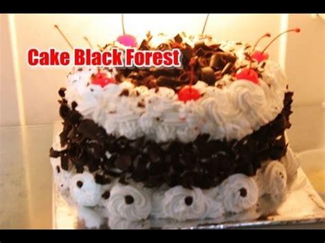 youtube membuat black forest resep dan cara mudah membuat black forest cake ala zasanah