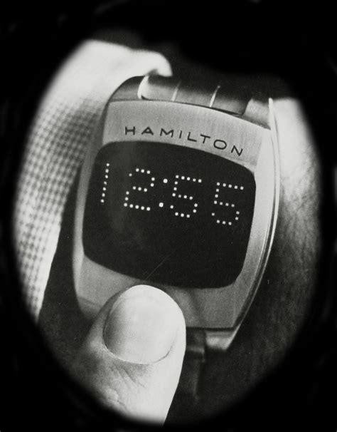 Hamilton Pulsar hamilton pulsar led 70s prototype the digital