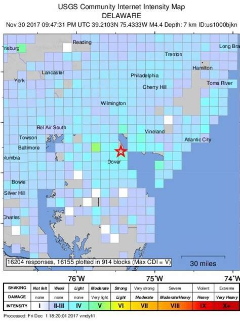 tracks seismic activity in pennsylvania penn state university some lancaster county residents feel 4 1 magnitude