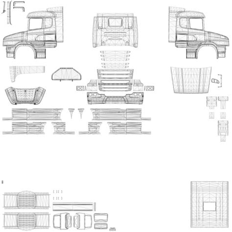 Topline Report Template Ets 2 Scania T Cab Photoshop V 1 0 Skins Mod F 252 R