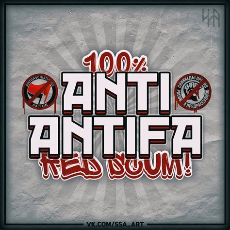 Aufkleber Anti Antifa by Sticker By Ssa L Anti Antifa By Ssa On Deviantart