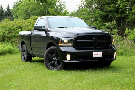 blacked out lights dodge ram 1500 2015 ram 1500 black express review autoguide com