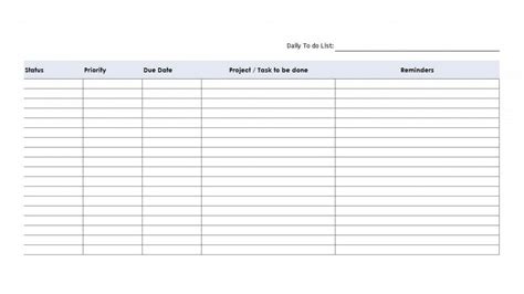 excel priority list template priority to do list printable www pixshark images