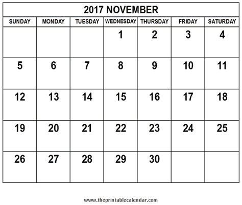 printable calendar september october november 2017 november 2017 calendar