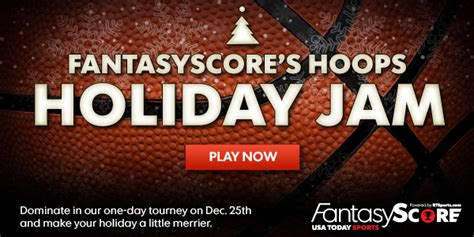 Play Contest And Win Money - play our holiday jam fantasy basketball contests win money tell us about your