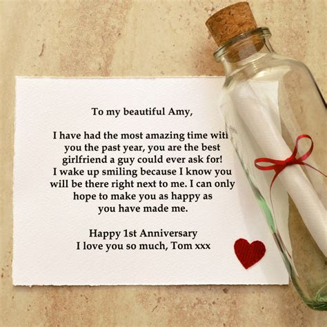 Wedding Gift Voucher Message by Personalised Message Anniversary Gift By Arnott