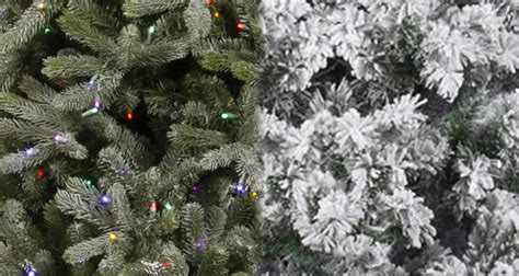 frosted trees flocked vs frosted trees northpoledecor