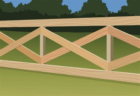 Home Decor Decorations by How To Build A Post And Rail Fence At The Home Depot