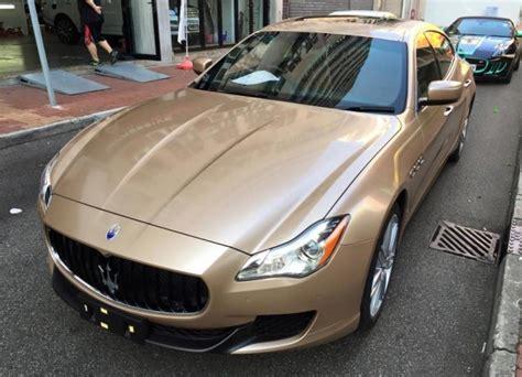 Chagne Maserati Quattroporte By Impressive Wrap