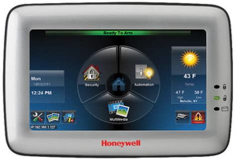 honeywell tuxedo touch adds home automation to security