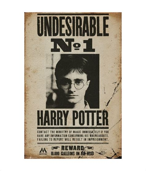 Harry Potter Printable Posters 11 printable wanted posters free psd vector eps
