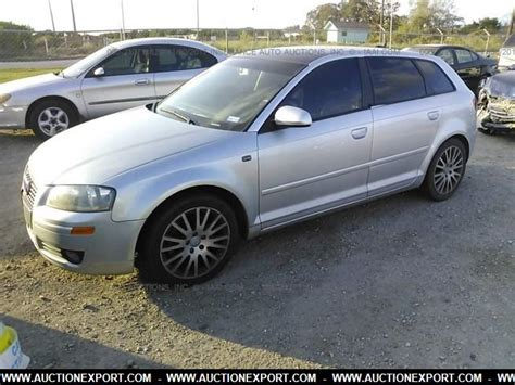 audi a3 2 0 t used used 2006 audi a3 2 0t car for sale at auctionexport