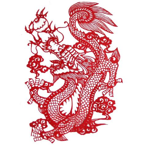 chinese dragon paper cut sub pop pinterest