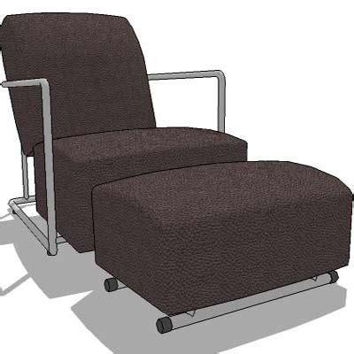 armchair with leg rest armchair with leg rest neo armchair 3d model formfonts 3d