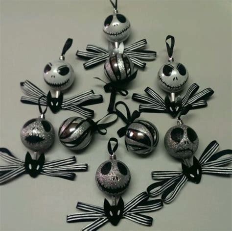 how to make nightmare before ornaments handmade nightmare before ornaments