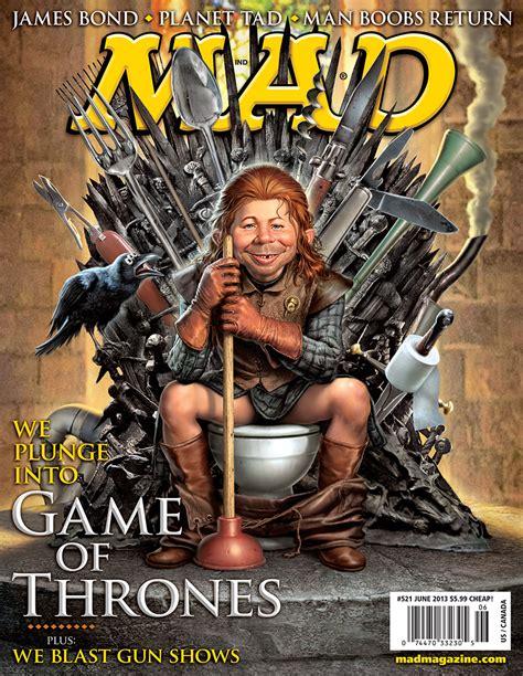 mad magazine mad magazine parodies game of thrones exclusive photos