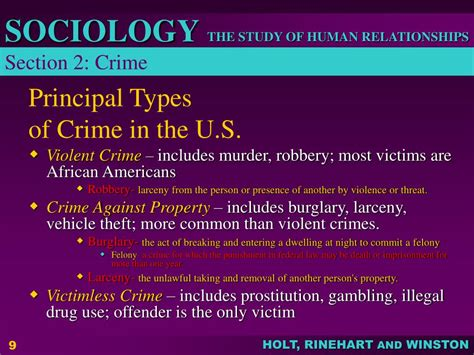 section 8 crime ppt chapter 8 deviance and social control powerpoint