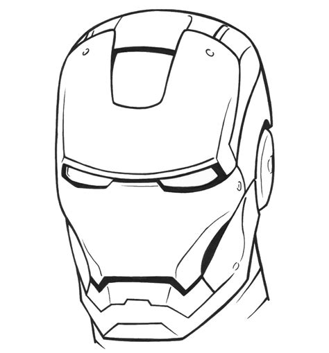 Iron Man Coloring Pages Birthday Printable Iron Colouring Pages To Print