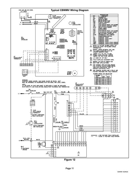 air handler wiring diagram wiring tradeline l6006c aquastat to lennox cbwmv hydronic