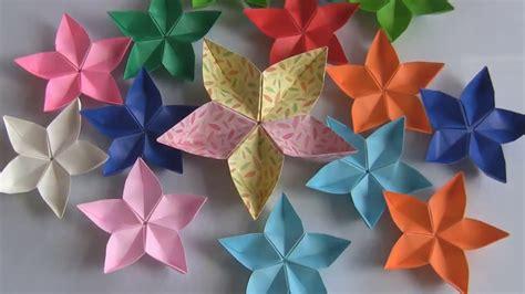 Origami Bunga - seni melipat kertas origami membentuk bunga melati