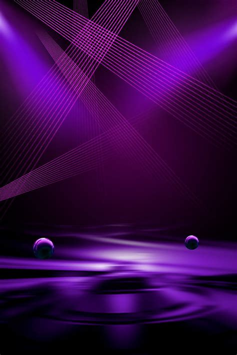 poster background light effect technology business purple banner background image