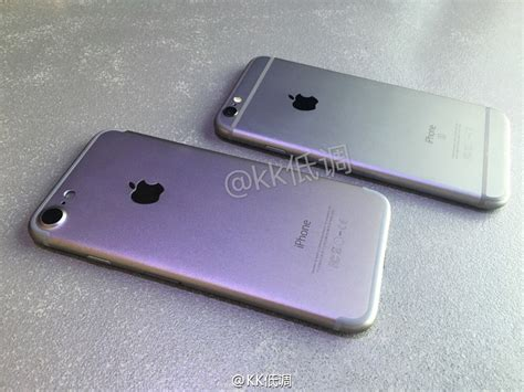 iphone 7 compared to iphone 6s shows larger and stereo speakers