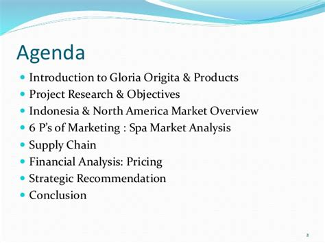 Export Management Notes For Mba by Mba Project Pt Gloria Origita Cosmetics Us Export