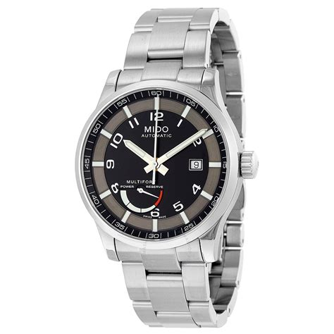 Mido Stainles mido multifort automatic black stainless steel s