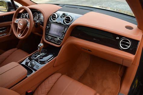 bentley orange interior bentley bentayga autologia