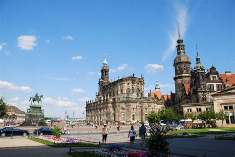 city centre dresden dresden city in germany thousand wonders