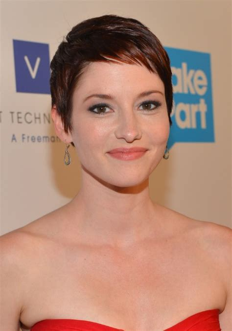 Chyler Leigh Short Hairstyles Best Short Pixie Haircut For Fine | short pixie haircut for fine hair chyler leigh short