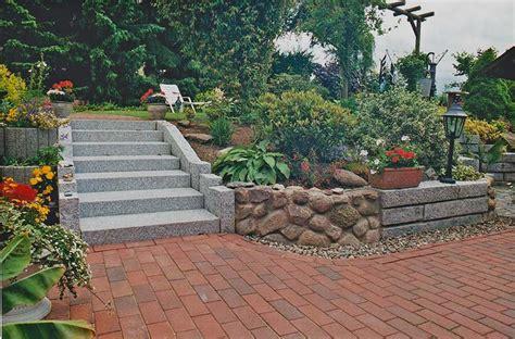 terrasse klinker galerie treppen stufenanlagen plath gartenbau