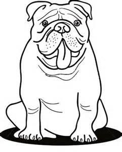 bulldog coloring pages free bulldog coloring pages