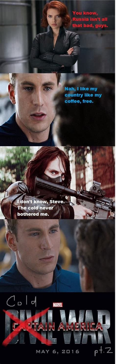 Captain America Kink Meme - captain america cold war captain america civil war 4