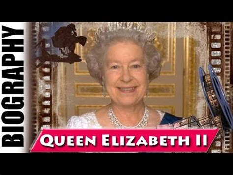 queen elizabeth ii biography and life story youtube