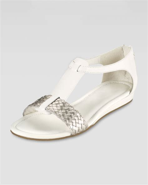white and gold sandals cole haan jaycee lowwedge sandal ivory in white ivory