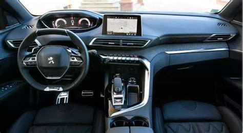 peugeot 3008 interior 2017 2018 peugeot 3008 change release date news
