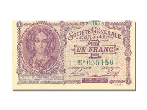 le comptoire des monnaies billets belgique banknotes belgium 1 franc type soci 233 t 233