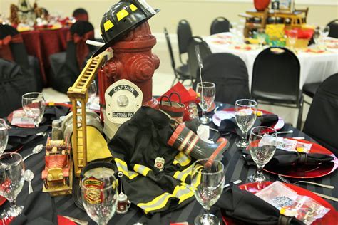 Firefighter Themed Centerpiece   Misc.   Firefighter