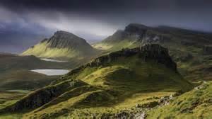 Landscape Scotland Trotternish Ridge Isle Of Scotland 2048x1152 By