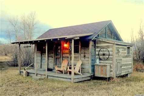 Tiny House Cabin by Yellowstone Cabin Hits The Market May Be One Of Our