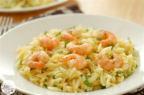 lemon pepper shrimp orzo a kitchen addiction