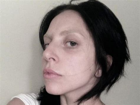lady gaga without makeup 2013
