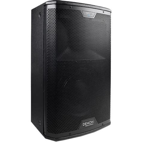 Speaker Advance M10 denon delta 10 10 quot 2 way powered loudspeaker delta 10 b h
