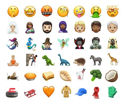 iphone emojis apple confirma novos emojis para iphone ios 11 veja a lista inform 225 tica techtudo