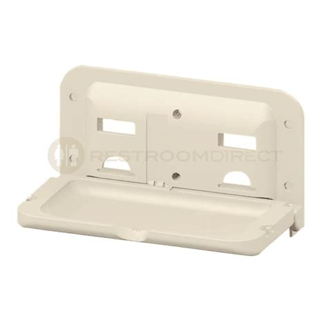ivory changing table progencare rectangle baby changing table