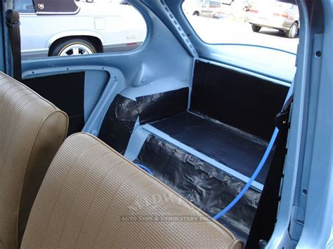 volkswagen beetle modified interior midwest auto tops upholstery 1962 vw beetle
