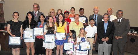 Geoffrey Memorial Essay Competition by South Patriotic Commission Announces Winners Of Memorial Day Student Essay Contest