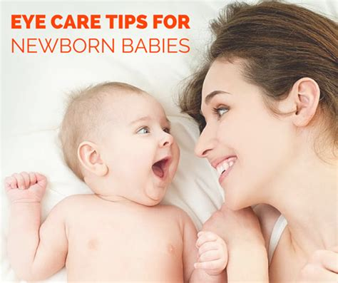 7 Tips On Taking Care Of A Newborn by Eye Care Tips For Newborn Baby