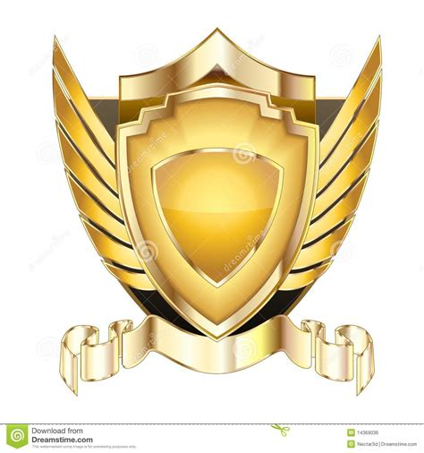 Heraldic Shield V.5 Royalty Free Stock Image   Image: 14369036